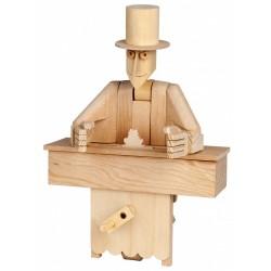 Automate en bois magicien en kit 20 cm