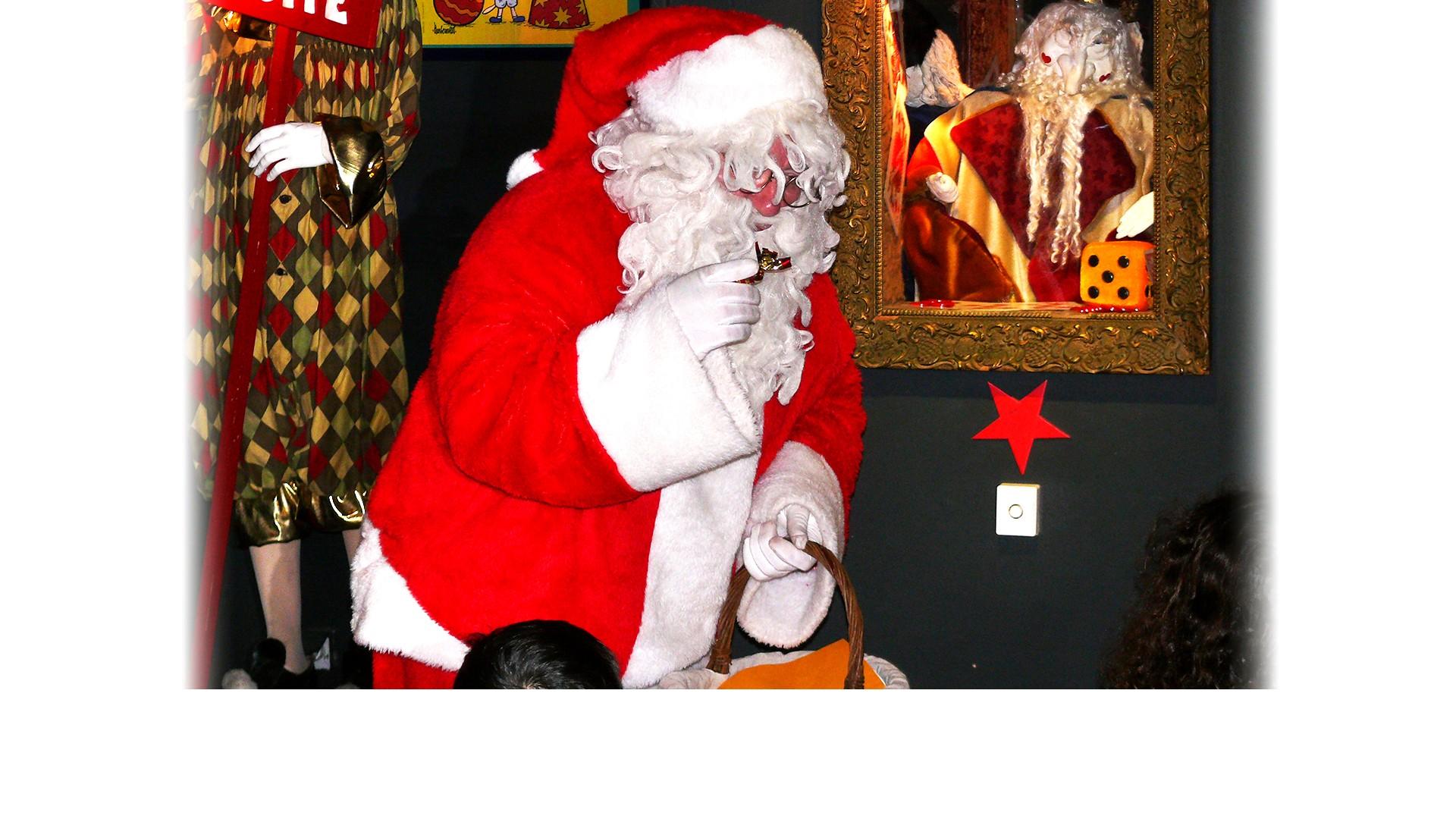 Rencontrez le vrai Père Noël à La Magie des Automates !