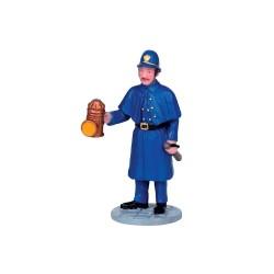 Gendarme Patrouille de nuit Lemax Caddington