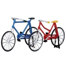 Lot Vélo rouge et vélo bleu Lemax
