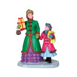 Figurine Courses de Noël Lemax Vail Village