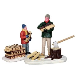 Figurines Coupons du bois Lemax Vail Village