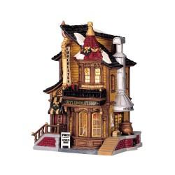 Lemax Caddington Lucy's Chocolate Shop à piles