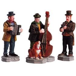 Musiciens de rue lot de 3 pièces Lemax