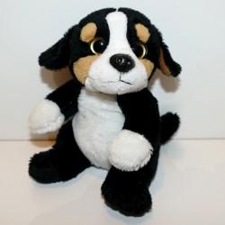 Peluche chien bouvier bernois 18 cm