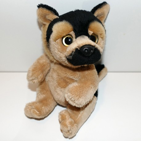 Peluche chien berger allemand 18 cm