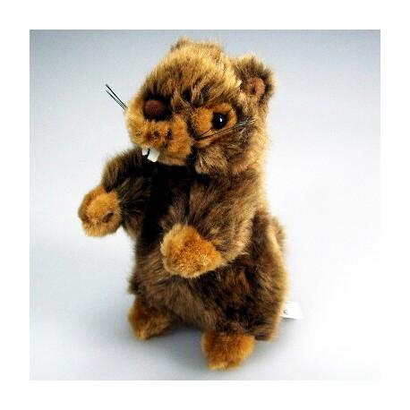 Peluche marmotte 19 cm