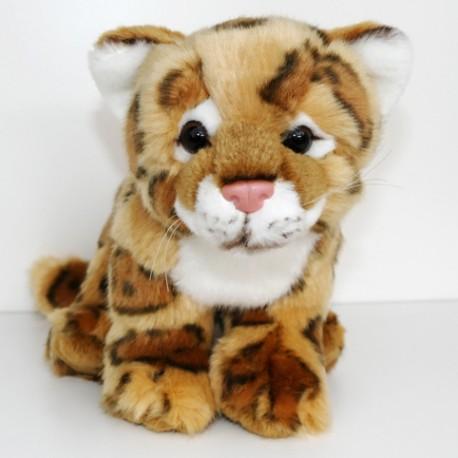 Peluche léopard 23 cm