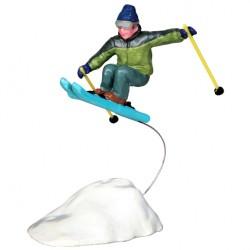 Sauteur à Ski Lemax Vail Village