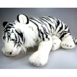 Peluche tigre blanc 66 cm