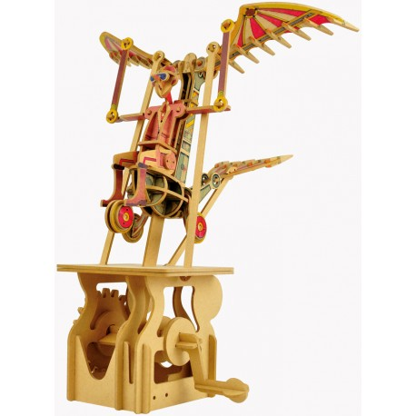 Automate en bois rêveur volant en kit