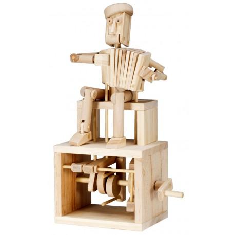 Automate en bois accordéoniste en kit 25 cm