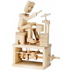 Automate en bois batteur en kit 22 cm