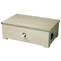 Kit moteur à pile pour automate en bois