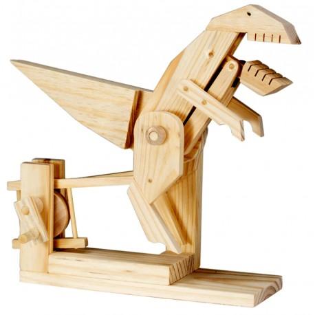 Automate en bois dinosaure T-Rex en kit