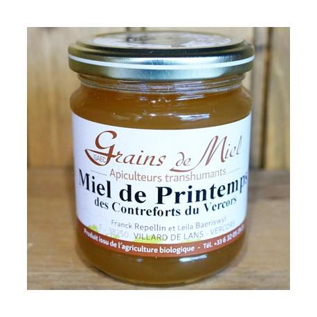 Miel de Printemps Bio 250 g ou 500 g