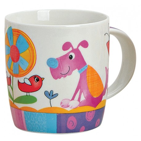 Tasse chien violet 30 cl