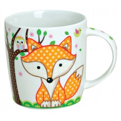 Tasse renard orange 30 cl