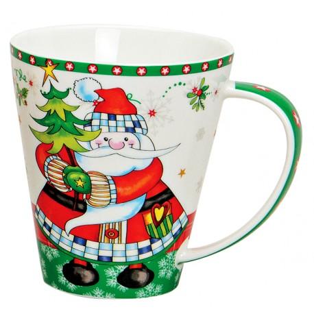 Tasse Noël Père Noël porcelaine 40 cl