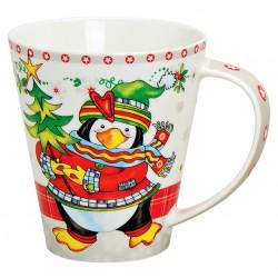 Tasse Noël Pingouin porcelaine 40 cl