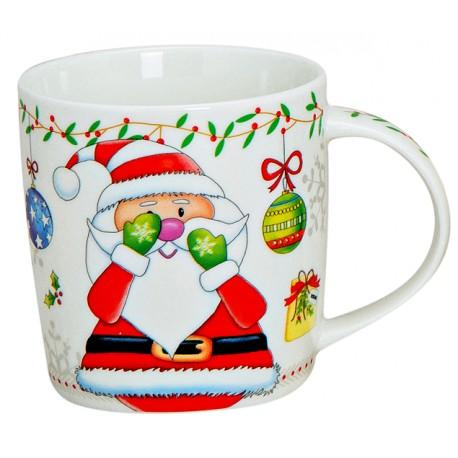 Tasse Père Noël porcelaine 30 cl