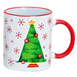 Tasse Noël sapin céramique 30 cl