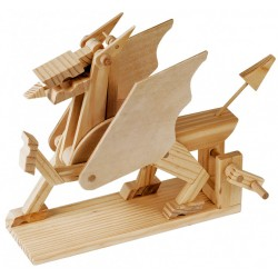 Automate en bois dragon en kit 18 cm