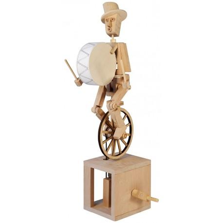 Automate en bois monocycliste en kit 33 cm
