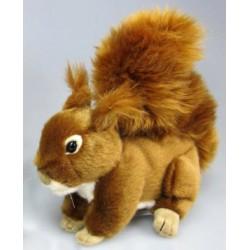 Peluche écureuil roux 16 cm