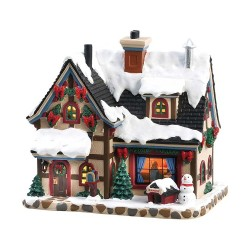 Maison lumineuse Noël Lemax Caddington