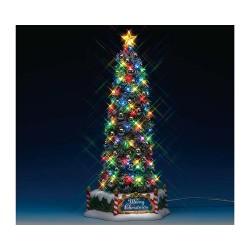 Sapin de Noël lumineux et sonore 33 cm Lemax