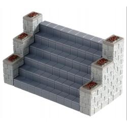Escalier 3 éléments à assembler Lemax