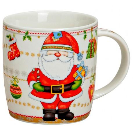 Tasse Père Noël porcelaine 30cl