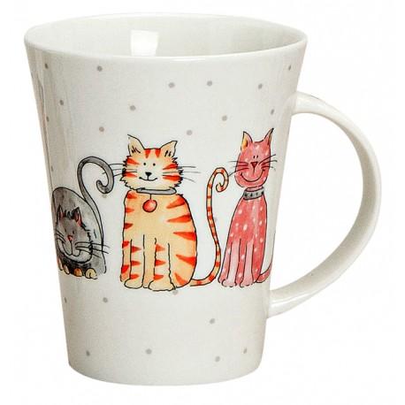 Tasse chats ligne 30cl
