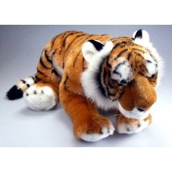 Peluche tigre brun 56 cm