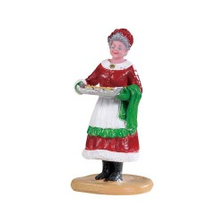 Les cookies de la Mère Noel Lemax Santas Wonderland