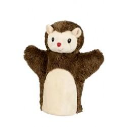 Marionnette à main en tissu hérisson 24 cm