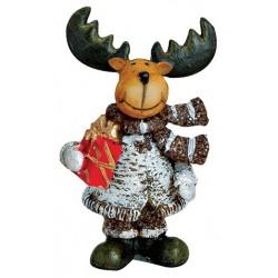 Figurine Renne cadeau résine 7 cm