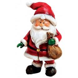 Figurine Père Noël sac résine 6 cm
