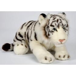Peluche tigre blanc 44 cm