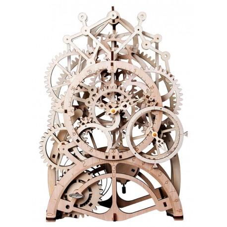 Maquette en bois Pendule animée