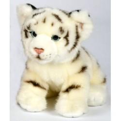 Peluche tigre blanc 26 cm