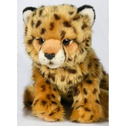 Peluche léopard 26 cm
