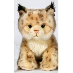 Peluche lynx 26 cm