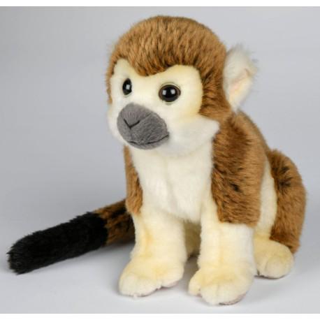 Peluche singe écureuil 18 cm