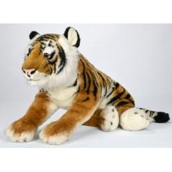 Peluche tigre brun 66 cm