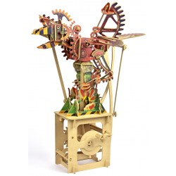 Automate en bois Oiseau version machine en kit 41 cm