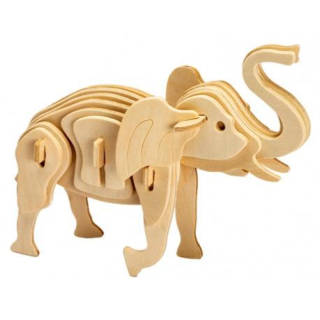 Maquette en bois Elephant