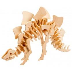 Maquette en bois Dinosaure Stégosaure