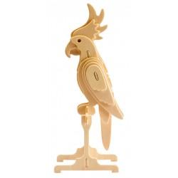 Maquette en bois Perroquet